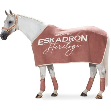 Eskadron Couvertures Anti-Transpiration Dralon Brand Rosewood XL