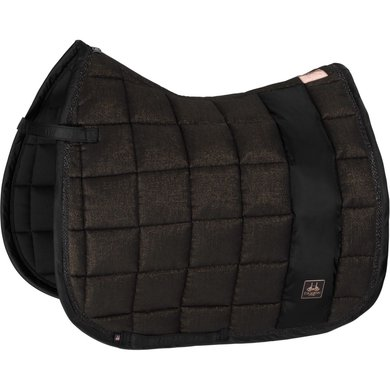 Eskadron Saddlepad GP Big Square Glitter Black Full