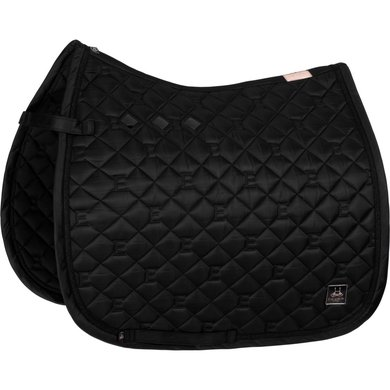 Eskadron Saddlepad GP Glossy Quilted Black Full