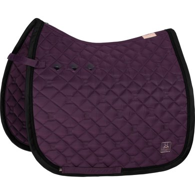 Eskadron Schabracke DR Glossy Quilted Deepberry Pony