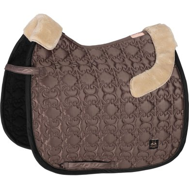 Eskadron Saddlepad GP Innopad Satin Faux Fur Black Full