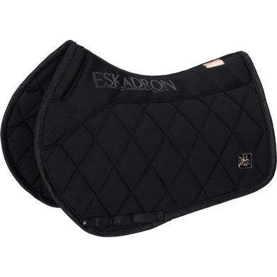 Eskadron Saddlepad GP Softshell Avantgarde Black Full