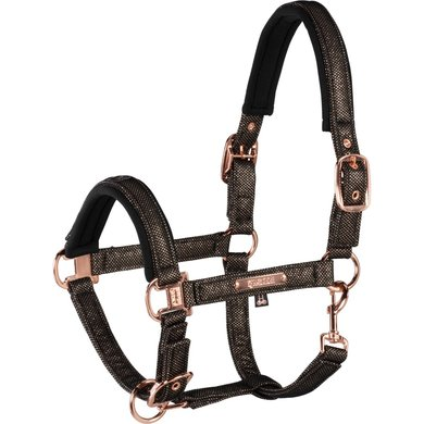 Eskadron Head Collar Glitter-Mesh Black/Lurex Pony