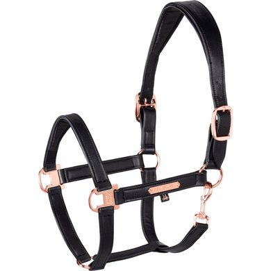 Eskadron Head Collar Heritage 2020 Leather Black Pony