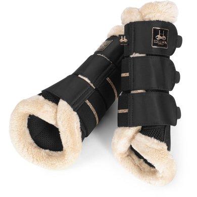 Eskadron Tendon Boots Heritage 2020 Mesh Faux Fur Black S