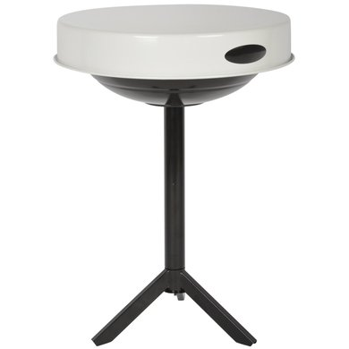 Esschert Table Barbecue Blanc 46,5x46,5x63cm