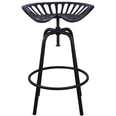Esschert Tractor stoel zwart 50x46,5x69,7cm