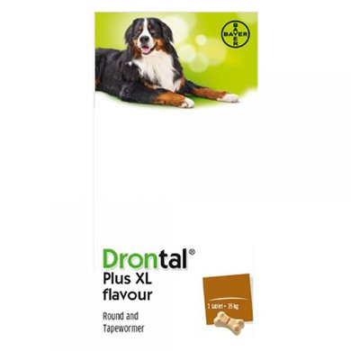 Drontal Dog Large Flavour 24 Tabletten