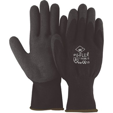 Planet Pu Flex Handschoen Zwart 9
