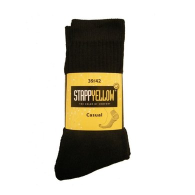 Planet Socks 4400 Stapp Yellow Casual Black