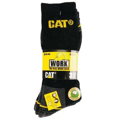CAT Socken 3 Paar Schwarz