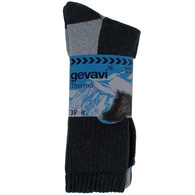 Gevavi Workwear GW83 Thermo Socken 3 Paar Grau