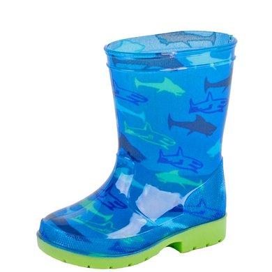 Gevavi Haai Kinderlaars PVC Blauw