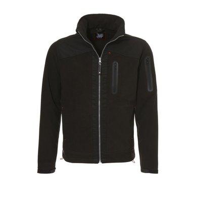 JMP Calgary Fleece Vest Zwart