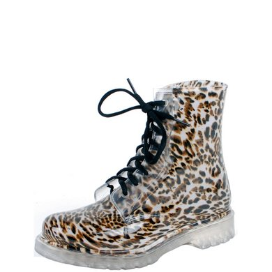 Gevavi Nora Meisjes- En Dameslaars PVC Leopard