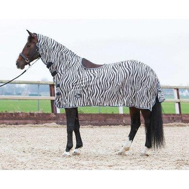Harrys Horse Fliegendecke Sattelaussparung Zebra