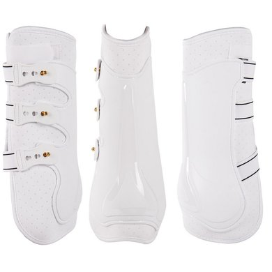 Harrys Horse Protection Boots Grand Prix Hind White
