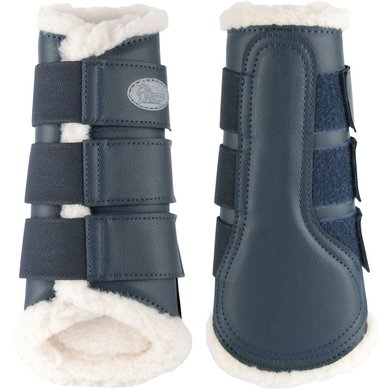 Harrys Horse Protection Boots Flextrainer Navy