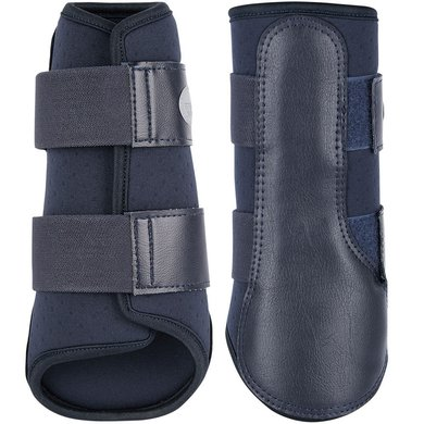 Harrys Horse Protection Boots Flextrainer Air Navy