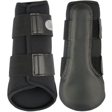 Harrys Horse Protection Boots Flextrainer Air Black