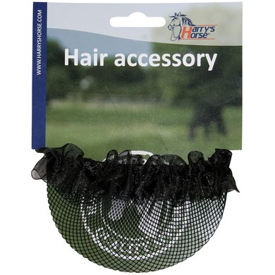 Harrys Horse Hair Net Bun Cover Black
