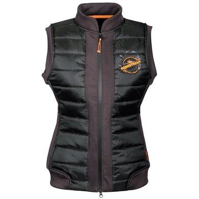 Harry's Horse Bodywarmer Equestrian Society Orange Zwart/Grijs/Oranje