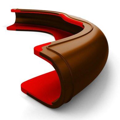 Harrys Horse Saddleclip Composti Coleo Brown/Red