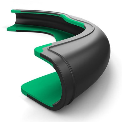 Harry's Horse Zadelclip Composti Coleo zwart-groen
