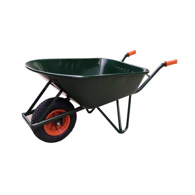hummer wheelbarrow stable green coated 120 l Hummer Roze.htm #15