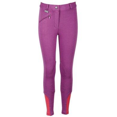 Harrys Horse Pantalon d'Équitation Youngrider Violet
