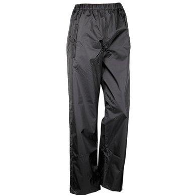 Harrys Horse Pantalon de Pluie Weatherpants avec Fermeture Éclair Noir