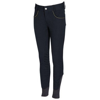 Harrys Horse Rijbroek Junior Full Grip Navy 152