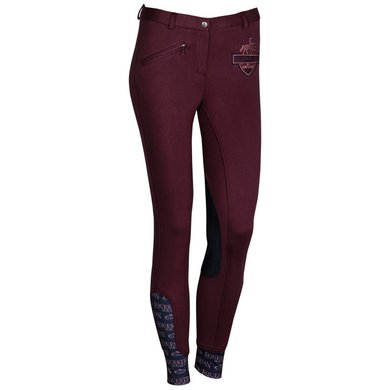 Harrys Horse Rijbroek Craven Prune Purple D36