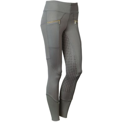 Harrys Horse Legging d'Équitation Jamestown Full Grip Smoked Pearl D38