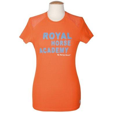 Harrys Horse Tshirt RHA Malibu Oranje XL