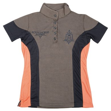 Harrys Horse Hippique Shirt Grijs 140