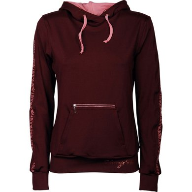 Harry's Horse Hoodie Just Ride Rosegold Bordeaux XL