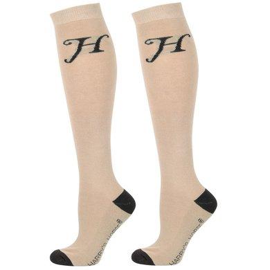 Harrys Horse Socks Uni Beige