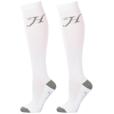 Harrys Horse Socks Uni White