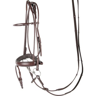 Harrys Horse Round-sewn Bridle Brown