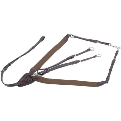 Harrys Horse Elastic Breastplate Brown