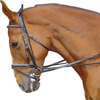 Harrys Horse Halsverlenger Elastisch Zwart