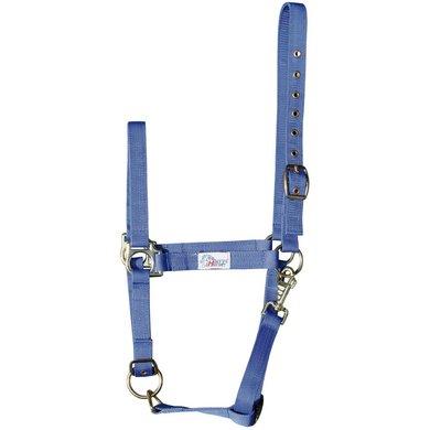 Harrys Horse Headcollar 3x Adjustable Blue