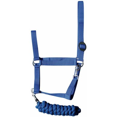 Harrys Horse Headcollar-Set Initial Navy
