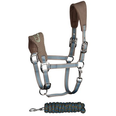 Harrys Horse Halsterset Crown WI16 Smoked Pearl Pony