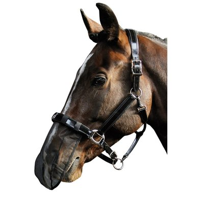 Harrys Horse Nose Net Black Universeel