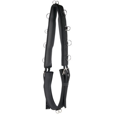 Harrys Horse Lunging Girth Luxe Black