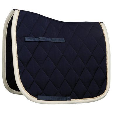 Harrys Horse Saddlepad Dressage Next Navy/cream Full Dr