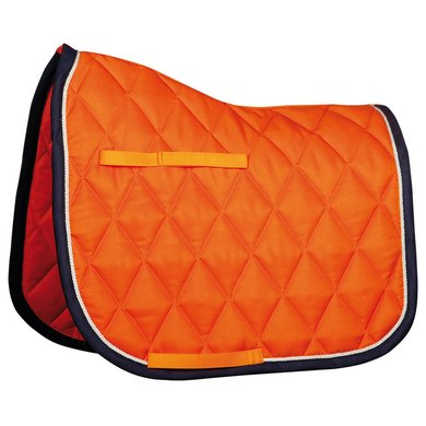 Harrys Horse Zadeldek Next Oranje/navy full-vz