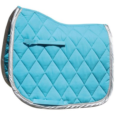 Harrys Horse Saddlepad DR Next Turquoise/Silver Full Dr